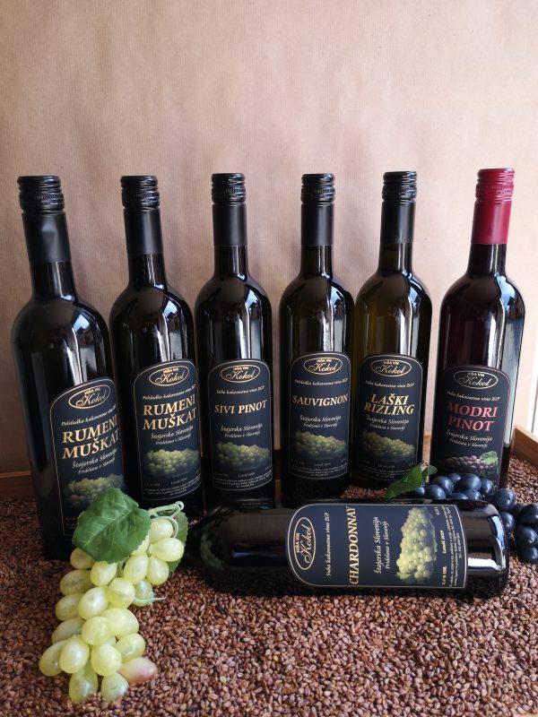Buteljčna-vina-bela_Hisa-vin-Kokol