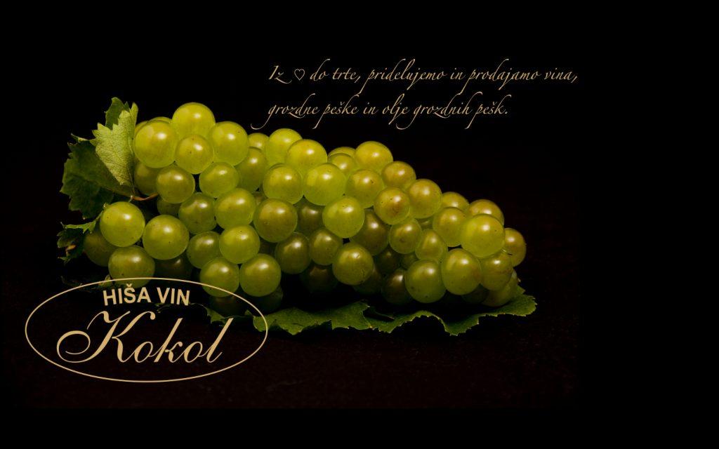grozdje Hiša vin Kokol
