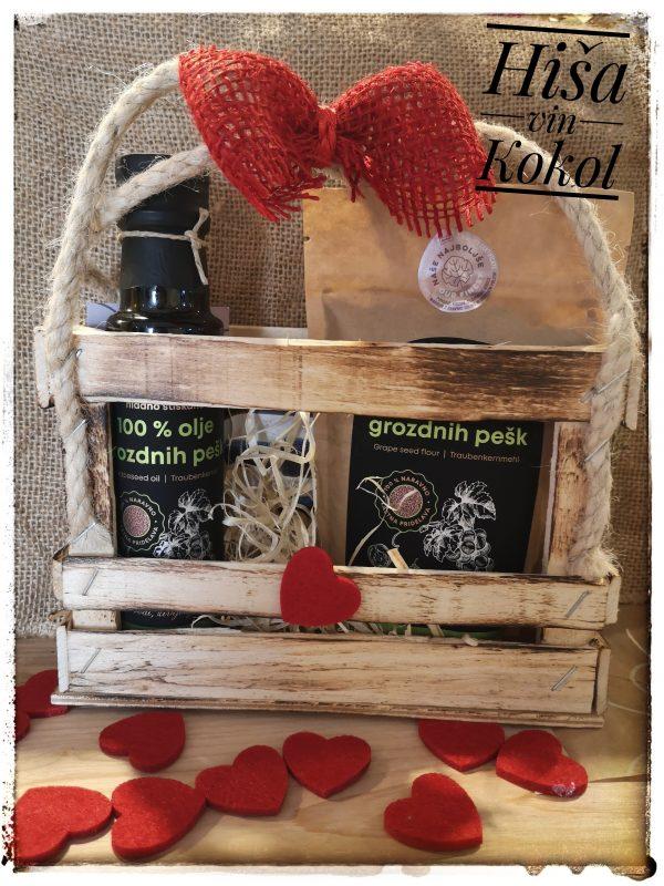Hisa_vin_kokol_olje_grozdnih_pesk_moka grozdnih pešk_paket valentin_8marec